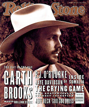 Rolling Stone Cover - Volume #653 - 4/1/1993 - Garth Brooks by