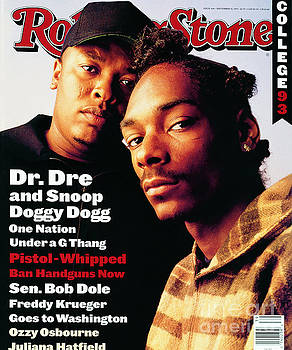 Rolling Stone Cover - Volume #666 - 9/30/1993 - Dr. Dre and Snoop Doggy Dog by