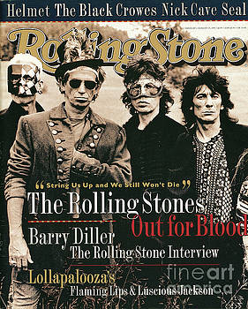 Rolling Stone Cover - Volume #689 - 8/25/1994 - Rolling Stones by