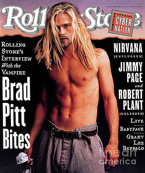 Rolling Stone Cover - Volume #696 - 12/1/1994 - Brad Pitt by