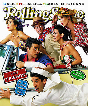 Rolling Stone Cover - Volume #708 - 5/18/1995 - Cast of Friends by
