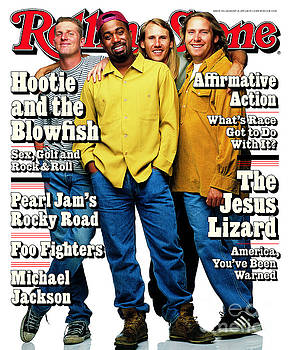 Rolling Stone Cover - Volume #714 - 8/10/1995 - Hootie and The Blowfish by