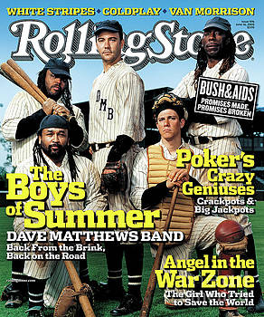 Rolling Stone Cover - Volume #976 - 6/16/2005 - Dave Matthews Band by