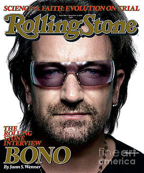 Rolling Stone Cover - Volume #986 - 11/3/2005 - Bono by