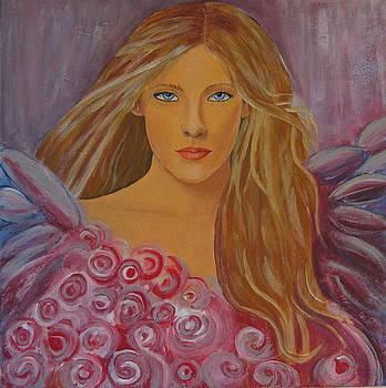 Romantic angel by Hanna Buric