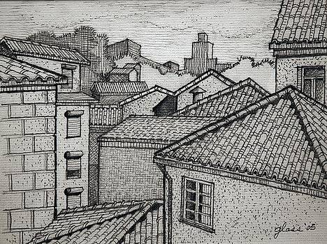 Rooftops by Lester Glass