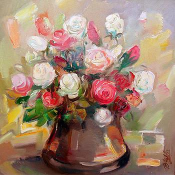 Roses by Vesa Valova
