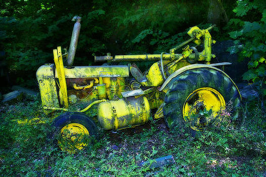 Rusted John Deere Tractor by Rianna Stackhouse
