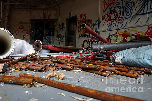 Rusty Pipes by Maglioli Studios