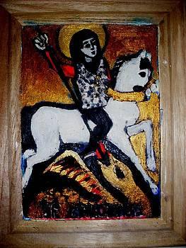 Saint George by Elena Buftea