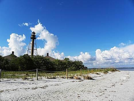 Sanibel Lighthouse by Anna Baker