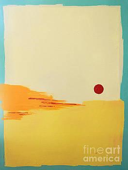 Sanibel Sunset 2 by Kristen Ashton