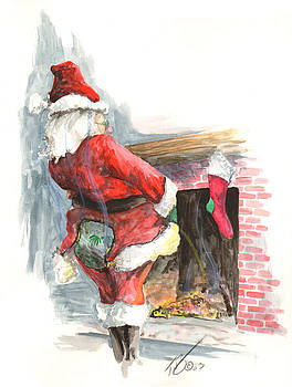 Santa 2003 by Tracy E Flynn
