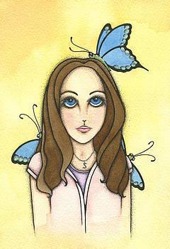 Sarah's Butterflies by Nora Blansett