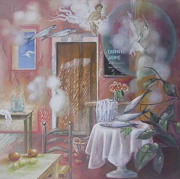 ''Sardinas locas'' by Eve Corin