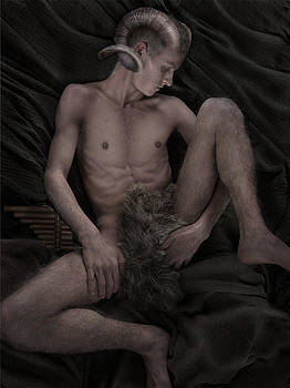 Satyr at Rest by John Clum