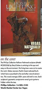 Sculpture Featured on Cover of National Magazine by Daryl Stokes