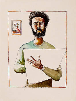 Self Portrait by Clarence Major