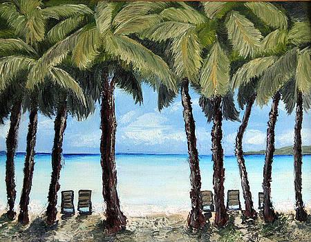 Shady Palms by Ann Iuen