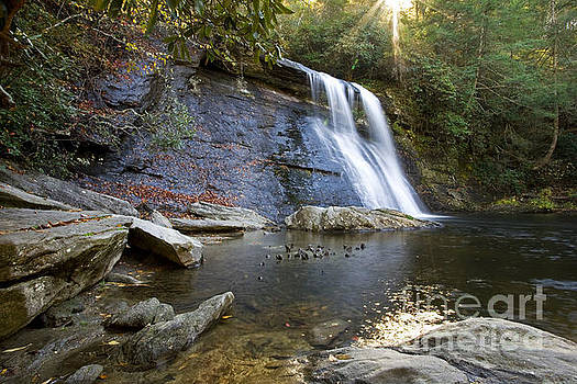 Silver Run Falls in Autumn by Matt Tilghman