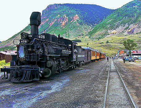 Silverton Train by Walt Jackson