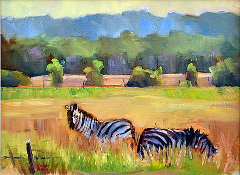 Simcoe County Zebras by Karin Fediw