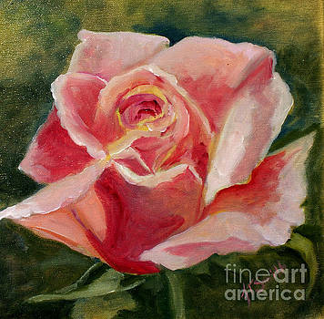 Single Rose by Jean Turner Smith