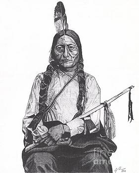 Sitting Bull by Jeff Ridlen