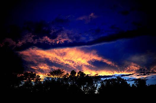 Sky on Fire by Frank DiGiovanni