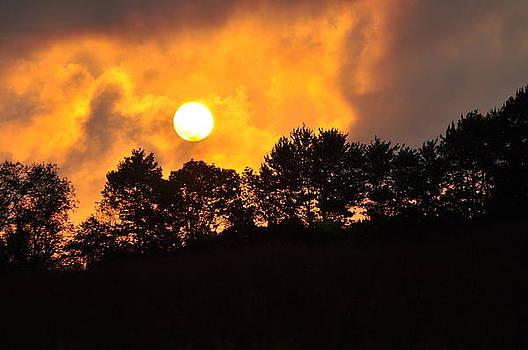 Sky on Fire by Peter  McIntosh