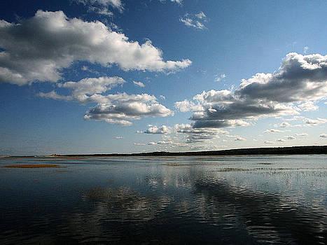 Sky Reflection Boardwalk by Malcolm Lorente