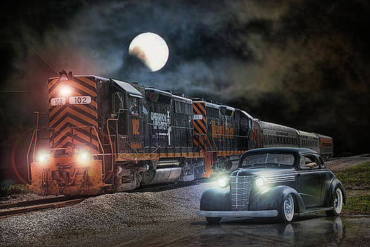 Solitary Moonlight .... by Rat Rod Studios