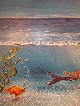 Somewhere under the sea by Anna Gitchel