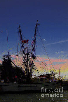 Southern Shrimp Boat by Donna Bentley