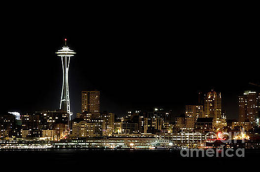Space Needle - Color by Steve Shockley