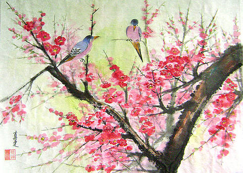Spring is coming by Lian Zhen