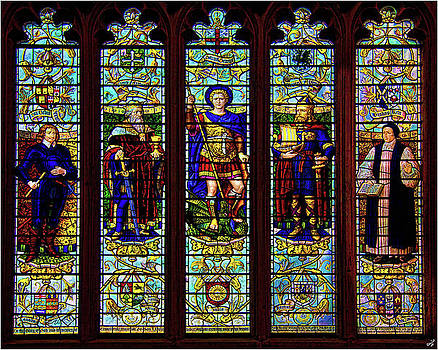 Stained Glass Window by Chris Lord