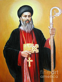 St.Gregorious of Parumala by Anup Roy