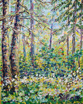 Summer Forest by Georges St Pierre