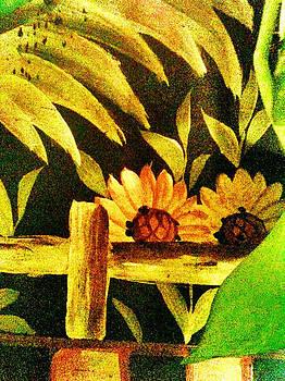 Sunflowers Escondidos by Mela Lucia