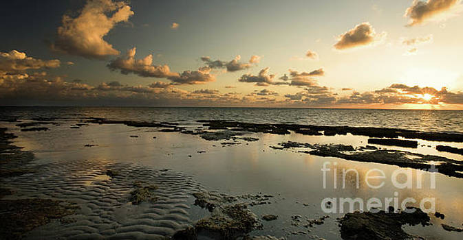 Sunrise over Fossil Reef by Matt Tilghman