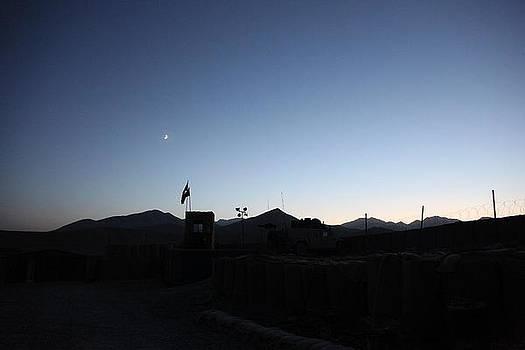 Sunset in Afghanistan by Ian Dudzinski