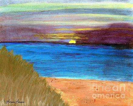 Sunset  by Lorraine Louwerse