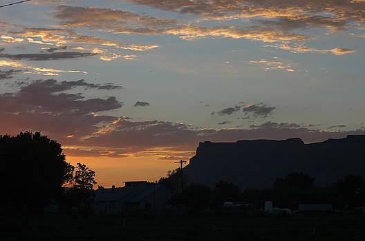 Sunset Mesa  by Edd  Voss