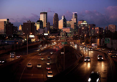 Sunset on Minneapolis by Chris Coward