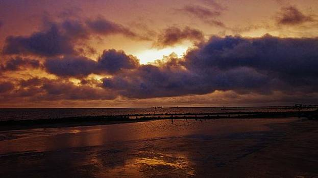 Sunset over Harkers Island by Casey Bingham