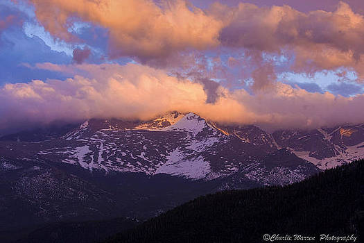 Sunset Over the Rockies by Charles Warren