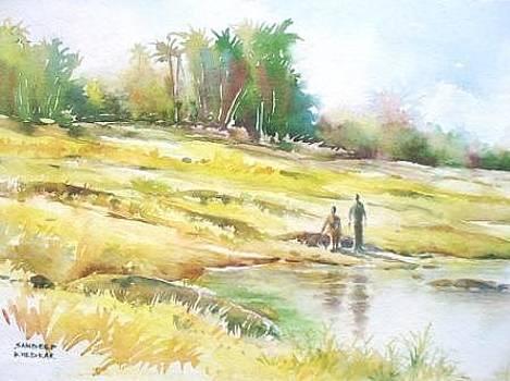 Sunshine and Friends by Sandeep Khedkar