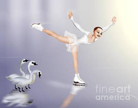 Swan Envy by Pauline Moore