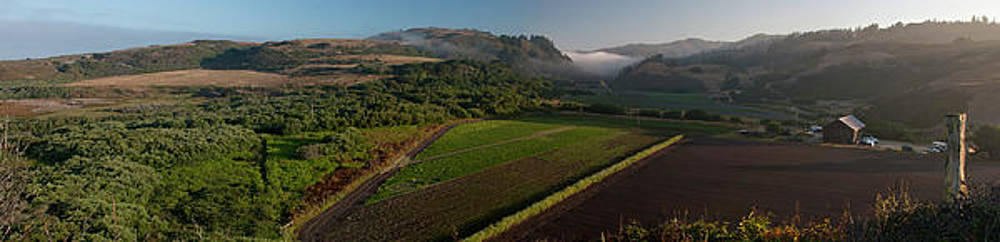 Swanton Panorama Central Califormia Landscape Photography by Larry Darnell